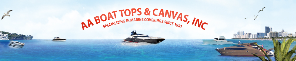 Logo AA Boat Tops & Canvas, Inc